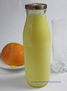 Orangenmolke