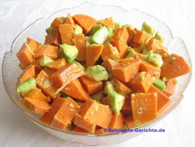 Süßkartoffel-Avocado-Salat