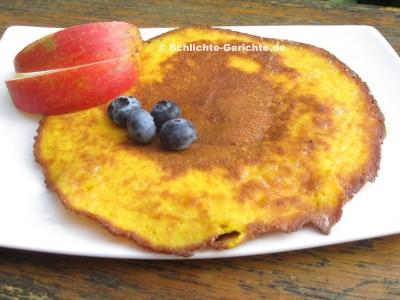 Kürbispfannkuchen